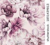 seamless floral pattern with... | Shutterstock . vector #1851439813