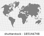 vector illustration of planet... | Shutterstock .eps vector #185146748