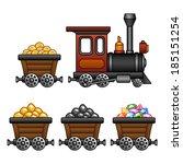 vintage train and mine tubs....