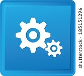 gears symbol vector | Shutterstock .eps vector #185151296