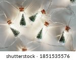 Christmas Tree Glass Jar Bottl...