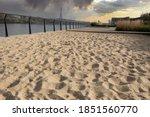 Deserted Beach On The...