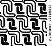 seamless futuristic background | Shutterstock .eps vector #185156999