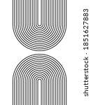black and white modern poster... | Shutterstock .eps vector #1851627883