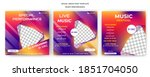 social media webinar banner... | Shutterstock .eps vector #1851704050