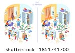 playing hide and seek with... | Shutterstock .eps vector #1851741700