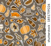 seamless pattern for holiday of ... | Shutterstock .eps vector #1851759226