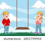the illustration of the girl... | Shutterstock .eps vector #1851759943