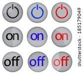 vector illustration of buttons...