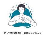 healthcare  medicne ...   Shutterstock .eps vector #1851824173