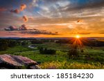 Colorful Summer Sunset From...