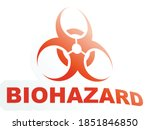 biohazard   biological hazard... | Shutterstock .eps vector #1851846850