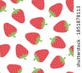 seamless pattern with cute... | Shutterstock . vector #1851878113