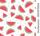 seamless pattern with cute... | Shutterstock . vector #1851878266