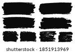 set of grunge brushes.grunge... | Shutterstock .eps vector #1851913969