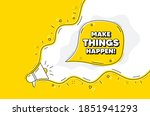 make things happen motivation...   Shutterstock .eps vector #1851941293