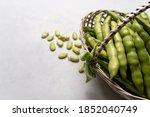 Basket Full Of Freshly...
