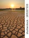 drought land so long waterless   Shutterstock . vector #185207333