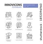 psychology concept   line... | Shutterstock .eps vector #1852096960