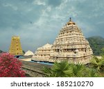 hindu narasimha temple located... | Shutterstock . vector #185210270