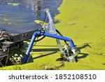 Pond Cleaning By Dredging Unit