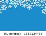 blue rectangular horizontal... | Shutterstock .eps vector #1852134493