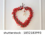Berry Christmas Wreath With...