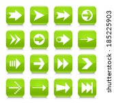16 arrow icon set 02. white...