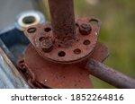 Photo Of Rusty Pipe Screwed...