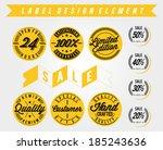 premium quality  discount ... | Shutterstock .eps vector #185243636