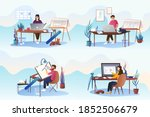 architects artists... | Shutterstock .eps vector #1852506679