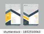 collection of modern design... | Shutterstock .eps vector #1852510063