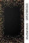 festive delicate confetti.... | Shutterstock .eps vector #1852580263