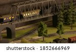 Model Of Retro Train With...