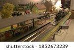 Miniature Railway Station Model....