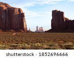 Monument Valley Usa Rock...