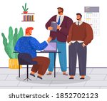 collaboration of partners ... | Shutterstock .eps vector #1852702123