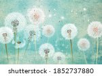 3d Picture Dandelions On A...