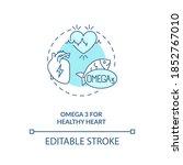omega 3 for healthy heart... | Shutterstock .eps vector #1852767010
