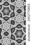 seamless pattern with floral... | Shutterstock . vector #1852770853