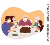 Happy Family Celebrates A...