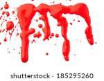 blood set | Shutterstock . vector #185295260