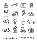 collection of icons symbolizing ... | Shutterstock .eps vector #1852959850
