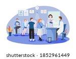 patients and doctors meeting...