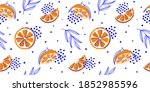 tropical seamless bright light... | Shutterstock .eps vector #1852985596