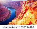Arizona Horseshoe Bend In The...