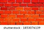 brick retro wall texture... | Shutterstock . vector #1853076139