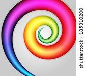 Abstract Swirl Shape. Eps 10...