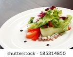 vegetable salad | Shutterstock . vector #185314850