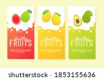 healthy fruit guava lemon...